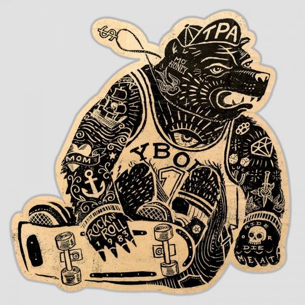 Punk Skate-Bear