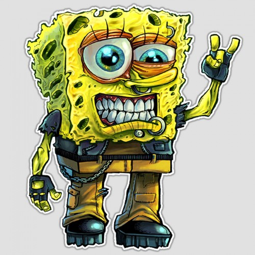 Rock On, SpongeBob!