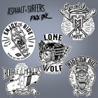 Asphalt Surfers - pack ONE