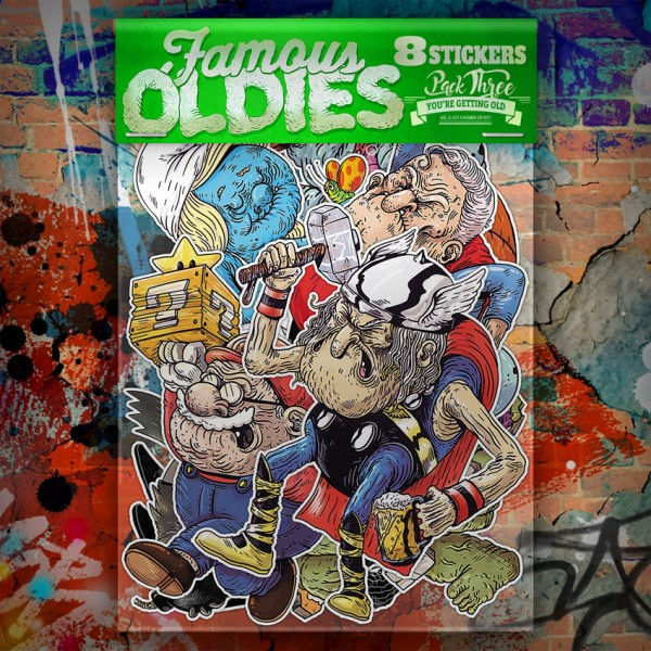 Famous Oldies - Pack THREE
